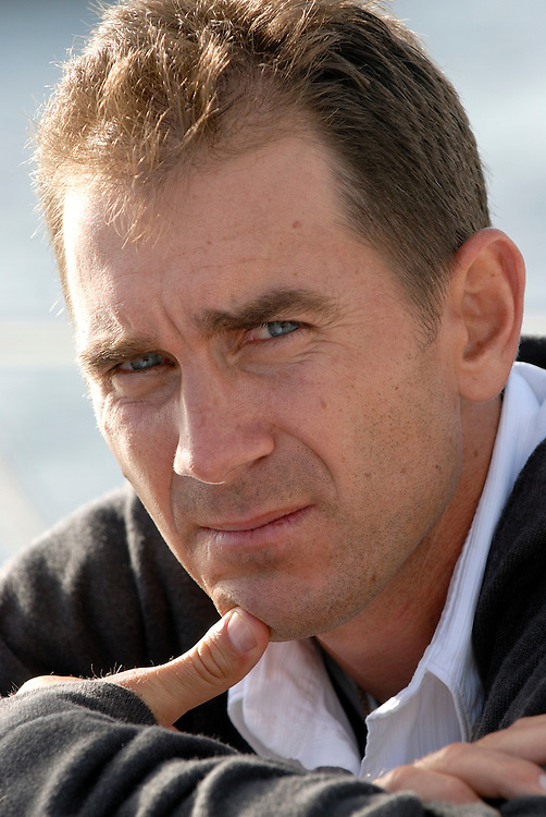 Australian Cricketer Justin Langer, Fremantle Harbour Western Australia November 10 2006 Photograph by David Dare Parker