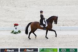Julie de Deken, (BEL), Lucky Dance - Grand Prix Team Competition Dressage - Alltech FEI World Equestrian Games™ 2014 - Normandy, France.<br /> © Hippo Foto Team - Leanjo de Koster<br /> 25/06/14