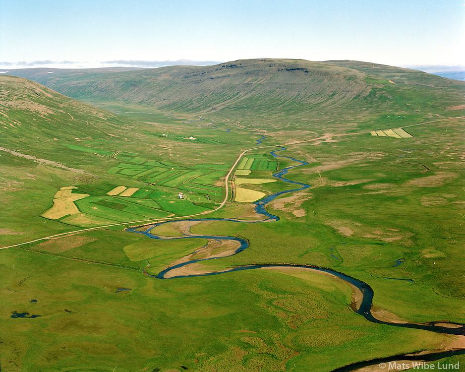 Svínaskógar séð til austurs, Dalabyggð áður Fellsstrandarhreppur / Svinaskogar viewing east, Dalabyggd former Fellsstrandarhreppur.