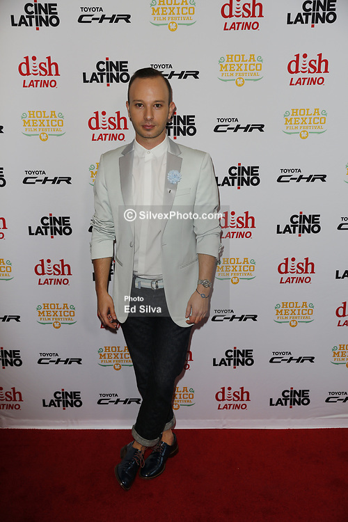 LOS ANGELES, CA - JUNE 7 Miguel Sagaz attends the 9th Annual Hola Mexico Film Festival Opening Night at the Regal LA LIVE in downtown Los Angeles, on June 7, 2017 in Los Angeles, California. Byline, credit, TV usage, web usage or linkback must read SILVEXPHOTO.COM. Failure to byline correctly will incur double the agreed fee. Tel: +1 714 504 6870.