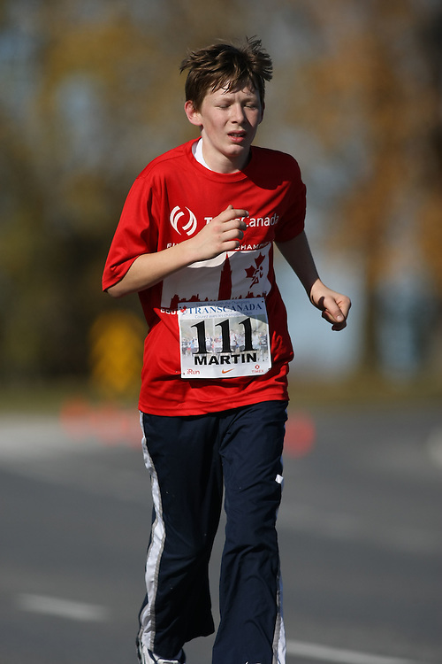 (Ottawa, ON---18 October 2008) KEVIN MARTIN competes in the 2008 TransCanada 10km Canadian Road Race Championships. Photograph copyright Sean Burges/Mundo Sport Images (www.msievents.com).