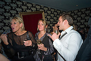 INGRID TARRANT, FIA TARRANT AND CHARLIE GREGORY, Bingo Lotto launch party. Soho Hotel Richmond Mews. London. 29 February 2008.  *** Local Caption *** -DO NOT ARCHIVE-© Copyright Photograph by Dafydd Jones. 248 Clapham Rd. London SW9 0PZ. Tel 0207 820 0771. www.dafjones.com.
