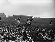20/02/1957<br /> 02/20/1957<br /> 20 February 1957 <br /> Soccer: Limerick v Bohemians in the F.A.I. Cup replay at Dalymount Park, Dublin.wood Cup, at College Park, Trinity College, Dublin.