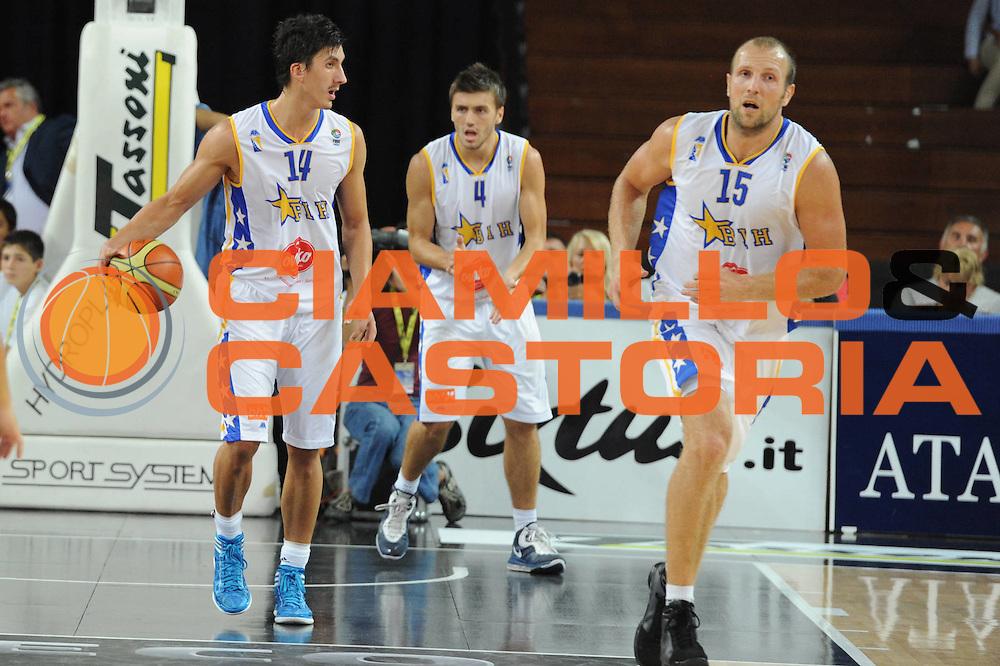 DESCRIZIONE : Rimini Trofeo Tassoni Italia Bosnia Italy Bosnia<br /> GIOCATORE : Nemanja Gordic<br /> CATEGORIA : palleggio<br /> SQUADRA : Bosnia<br /> EVENTO : Trofeo Tassoni<br /> GARA : Italia Bosnia<br /> DATA : 12/08/2011<br /> SPORT : Pallacanestro<br /> AUTORE : Agenzia Ciamillo-Castoria/GiulioCiamillo<br /> Galleria : Fip Nazionali 2011 <br /> Fotonotizia : Rimini Trofeo Tassoni Italia Bosnia Italy Bosnia<br /> Predefinita :
