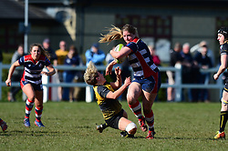 Poppy Cleall of Bristol Ladies - Mandatory by-line: Dougie Allward/JMP - 26/03/2017 - RUGBY - Cleve RFC - Bristol, England - Bristol Ladies v Wasps Ladies - RFU Women's Premiership