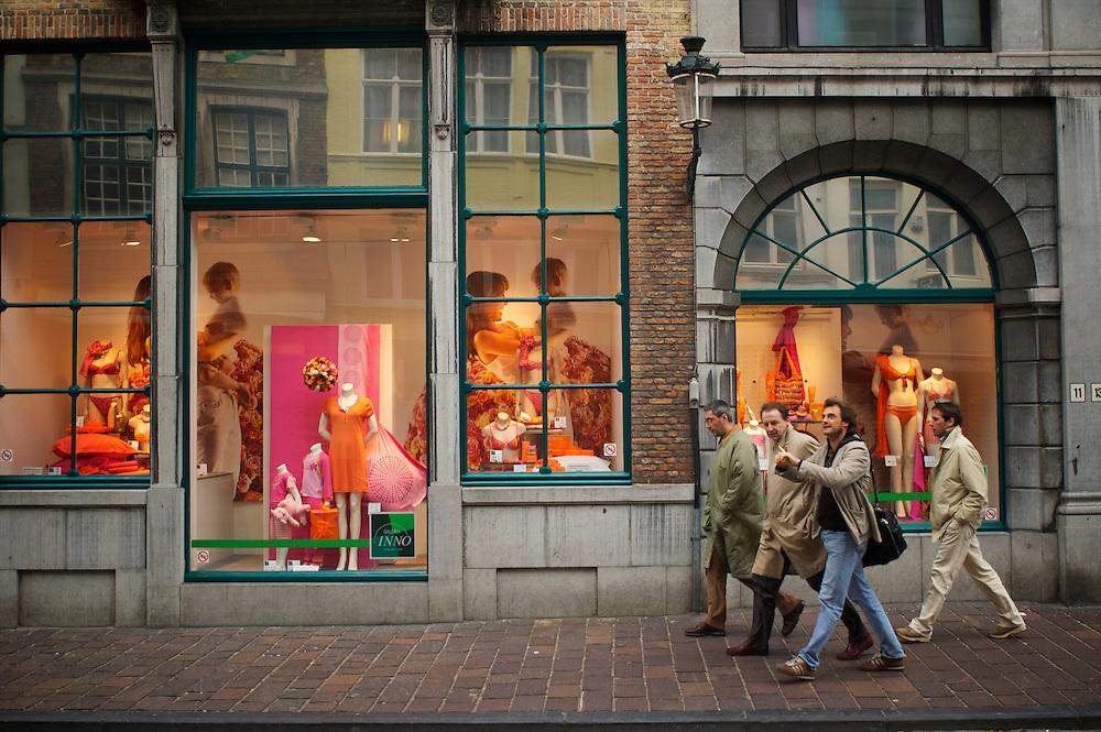 Steenstraat.<br /> Bruges, Belgium.