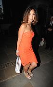 Myleene Klass  Leaves The ITV Summer Party ,Chepstow Villas, Notting Hill,London<br /> ©Exclusivepix Media