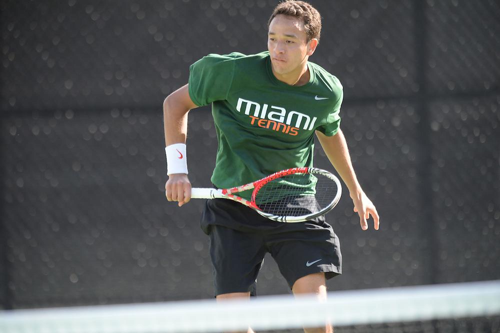 2015 Miami Hurricanes Men's Tennis vs Florida Atlantic