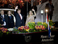 Amsterdam, 05-05-2017 <br /> <br /> King Willem-Alexander and Queen Maxima attend Liberation Concert<br /> <br /> PUBLICATION ONLY IN FRANCE<br /> <br /> COPYRIGHT: ROYALPORTRAITS EUROPE/ BERNARD RUEBSAMEN
