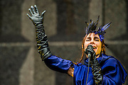 PJ Harvey plays the Other Stage - The 2016 Glastonbury Festival, Worthy Farm, Glastonbury.
