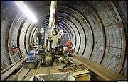 Chiomonte 15/02/2017: cantiere del tunnel geognostico della Maddalena