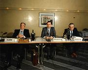 Convegno Internazionale Milano Hotel Michelangelo 1987<br /> rubini, coccia, ceccotti