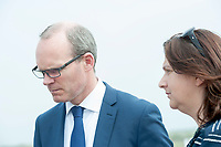 14/05/2017  Repro Free:  Minister Simon Coveney was in Kinvara with Anne Rabbitte TD to officially open the new wastewater treatment plant which was constructed following an investment of €5.1 million by Irish Water. . Photo:Andrew Downes, xposure