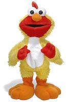 elmo in a big bird suit