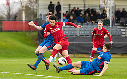 LIVERPOOL, ENGLAND - Monday, February 24, 2020: Liverpool's captain Curtis Jones during the Premier League Cup Group F match between Liverpool FC Under-23's and AFC Sunderland Under-23's at the Liverpool Academy. (Pic by David Rawcliffe/Propaganda)
