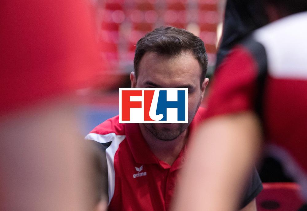 BERLIN - Indoor Hockey World Cup<br /> Poland - Kazachstan<br /> foto: RACHWALSKI Krzysztof<br /> WORLDSPORTPICS COPYRIGHT FRANK UIJLENBROEK