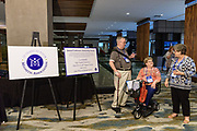 The TMA luncheon and awards presentation during The Myositis Association's Annual Patient Conference & 25th Anniversary Celebration, Saturday, Sept. 8, 2018, at the Louisville Marriott Downtown in Louisville, Ky. (Photo by Brian Bohannon)