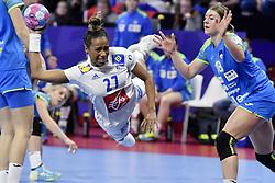 France player Estelle Nze Minko during the Women's european handball chanmpionship preliminary round, Slovenia vs France. Nancy, Fance -02/12/2018//POLEMILE_01POL20181202NAN026/Credit:POL EMILE / SIPA/SIPA/1812021731
