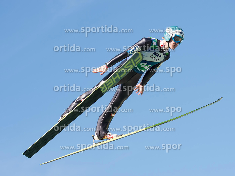 28.09.2014, Energie AG Skisprung Arena, Hinzenbach, AUT, FIS Ski Sprung, Sommer Grand Prix, Hinzenbach, im Bild Michael Haybock (AUT) during FIS Ski Jumping Summer Grand Prix at the Energie AG Skisprung Arena, Hinzenbach, Austria on 2014/09/28. EXPA Pictures © 2014, PhotoCredit: EXPA/ Reinhard Eisenbauer