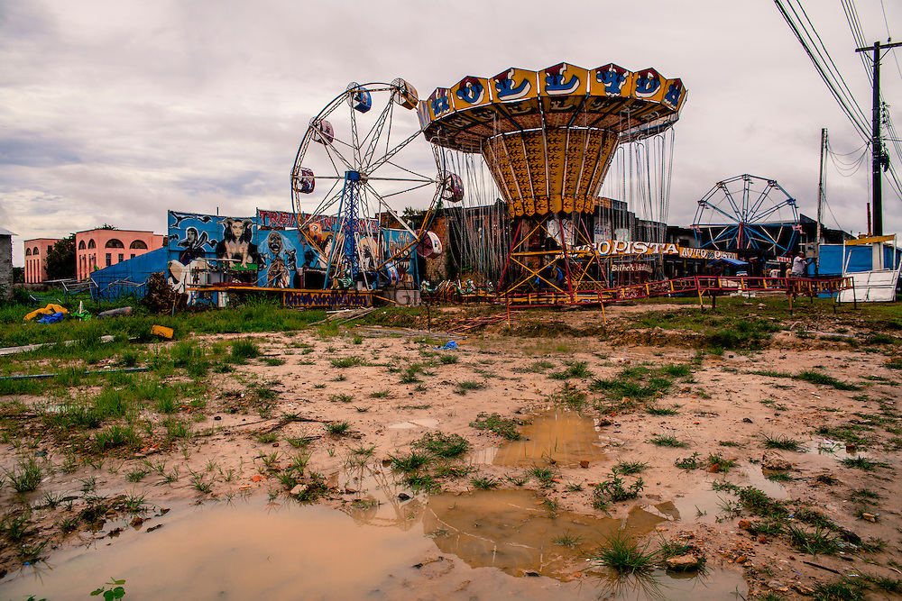 Amusement park in Tabatinga, Amazonas, on the Brazilian side of the border