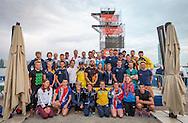 Divers group<br /> FINA High Diving World Cup 2016<br /> Abu Dhabi Sailing and Yacht Club <br /> Corniche Breakwater -Abu Dhabi - U.A.E.<br /> Day0  26 Feb.2016<br /> Photo G.Scala/Insidefoto/Deepbluemedia