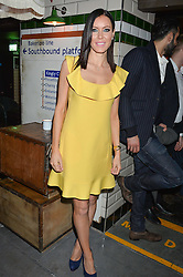 LINZI STOPPARD at a party to celebrate the opening of Cahoots - a new nightclub from the Inception Group at 13 Kingly Court, Soho, London on 26th February 2015.
