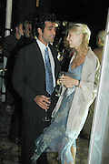 Aatish Taseer and Lady Gabriella Windsor, Vanity Fair and Dom Perignon celebrated a collection of essays on Seduction in aid of English PEN. Dom Perignon Ballroom. 8 September 2004. SUPPLIED FOR ONE-TIME USE ONLY-DO NOT ARCHIVE. © Copyright Photograph by Dafydd Jones 66 Stockwell Park Rd. London SW9 0DA Tel 020 7733 0108 www.dafjones.com