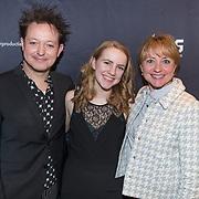 NLD/Amsterdam/20180222 - Premiere Vele Hemels boven de Zevende, Rop Verheijen met Bianca Krijgsman en haar dochter