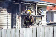 Tauranga-Fire destroys Parkvale house