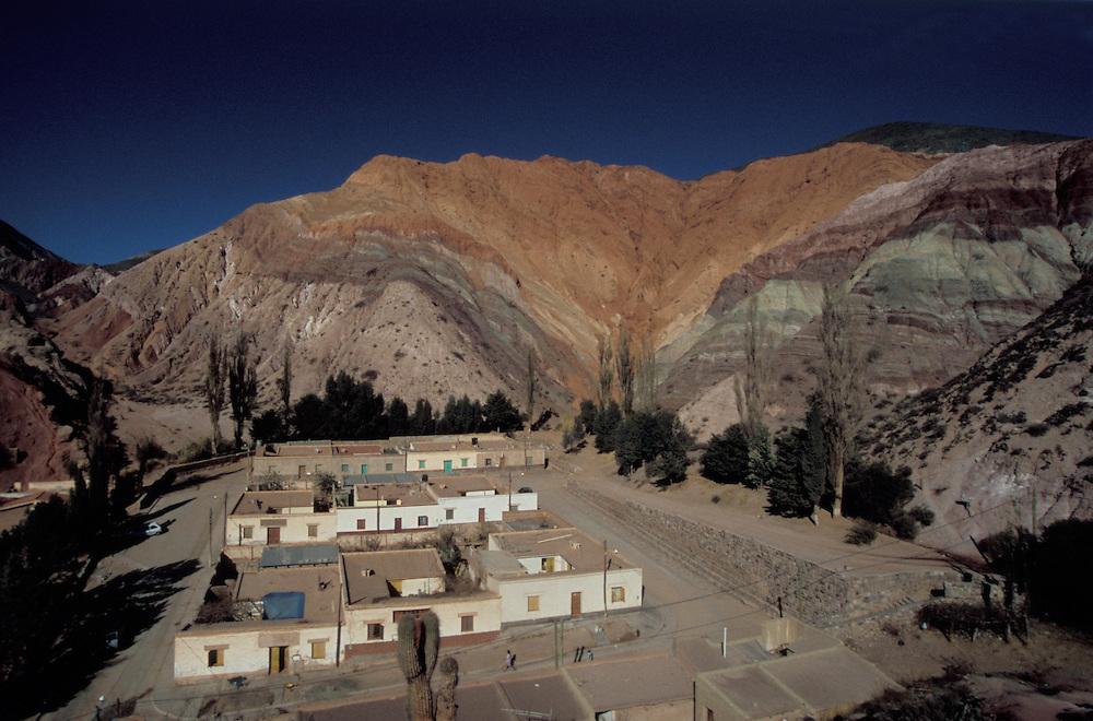 Beautiful scenery in the Atacama desert near Quebrada de Huamanaca, Argentina