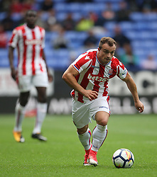 Xherdan Shaqiri of Stoke City in action - Mandatory by-line: Jack Phillips/JMP - 29/07/2017 - FOOTBALL - Macron Stadium - Bolton, England - Bolton Wanderers v Stoke City - Pre-Season Club Friendly