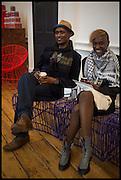 RASHID ALI; ERLENE WANDERA, 1:54 Contemporary African art Fair, Somerset House. London. 15 October 2014