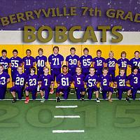2015 Berryville 7th Grade Football Team & Individaul