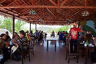 La Loma de la Cruz restaurant, Holguin, Cuba.