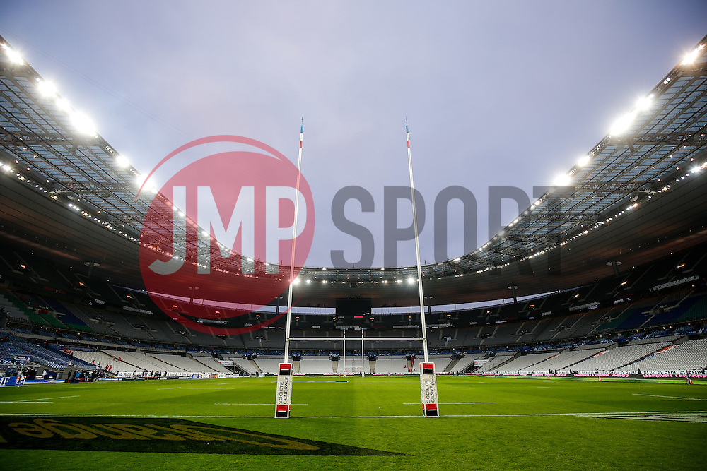 General view inside the Stade de France before kickoff - Mandatory byline: Rogan Thomson/JMP - 19/03/2016 - RUGBY UNION - Stade de France - Paris, France - France v England - RBS 6 Nations 2016.