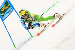 March 9, 2019 - Kranjska Gora, Kranjska Gora, Slovenia - Stefan Hadalin of Slovenia in action during Audi FIS Ski World Cup Vitranc on March 8, 2019 in Kranjska Gora, Slovenia. (Credit Image: © Rok Rakun/Pacific Press via ZUMA Wire)