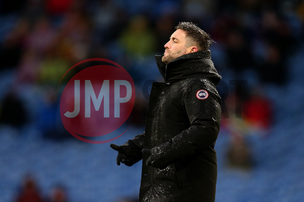 Bristol City head coach Lee Johnson  shouts - Mandatory by-line: Matt McNulty/JMP - 28/01/2017 - FOOTBALL - Turf Moor - Burnley, England - Burnley v Bristol City - Emirates FA Cup fourth round