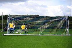 The goalkeepers warm up - Photo mandatory by-line: Dougie Allward/JMP - Tel: Mobile: 07966 386802 24/06/2013 - SPORT - FOOTBALL - Bristol -  Bristol Rovers - Pre Season Training - Npower League Two