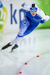 11-12-2016 NED: ISU World Cup Speed Skating, Heerenveen<br /> Mika Poutala FIN op de 1000 m