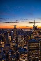 Blue Hour in Manhattan