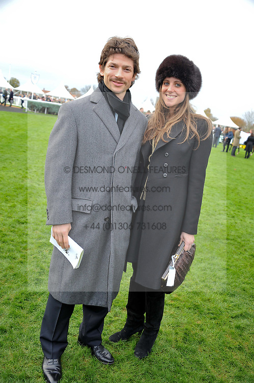 SAM & BELLA WALEY-COHEN at the Hennessy Gold Cup at Newbury Racecourse, Berkshire on 26th November 2011.