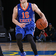 BYU alumni JIMMER FREDETTE (16) attempts a jump shot in the second half of a NBA D-league regular season basketball game between the Delaware 87ers and the Westchester Knicks  Saturday Dec, 26, 2015 at The Bob Carpenter Sports Convocation Center in Newark, DEL