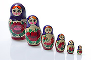 MATRYOSHKA DOLLS $36.90 FOR SET OF 6 FROM ALFREDS. Product- Photo Shane Eecen