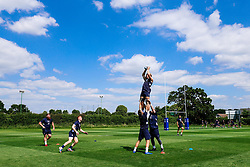 Sam Graham in action during week 1 of Bristol Bears pre-season training ahead of the 19/20 Gallagher Premiership season - Rogan/JMP - 03/07/2019 - RUGBY UNION - Clifton Rugby Club - Bristol, England.