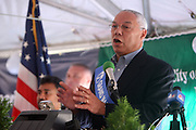 Former Secretary of State, Colin Powell at the 42 Annual West Indian Day Carnival Breakfast Co-Sponsored by Hennessey at Lincoln Terrace Park Tennis Court on September 7, 2009 in Brooklyn, NY