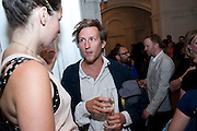 HENRY HUDSON, Private view and Summer party to celebrate Haunch of Venison's exhibition. Joanna Vasconcelos; I will Survive and Polly Morgan: Psychopomps. Dover st. arts Club. 20 July 2010. -DO NOT ARCHIVE-© Copyright Photograph by Dafydd Jones. 248 Clapham Rd. London SW9 0PZ. Tel 0207 820 0771. www.dafjones.com.