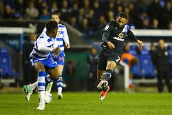 Liam Feeney of Blackburn Rovers shoots - Mandatory by-line: Jason Brown/JMP - 04/04/2017 - FOOTBALL - Madejski Stadium - Reading, England - Reading v Blackburn Rovers - Sky Bet Championship
