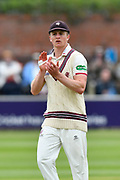 Tom Abell of Somerset during the opening day of the Specsavers County Champ Div 1 match between Somerset County Cricket Club and Hampshire County Cricket Club at the Cooper Associates County Ground, Taunton, United Kingdom on 11 May 2018. Picture by Graham Hunt.