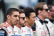 Sébastien Buemi<br /> TOYOTA GAZOO  Racing. <br /> Le Mans 24 Hours Race, 11th to 17th June 2018<br /> Circuit de la Sarthe, Le Mans, France.