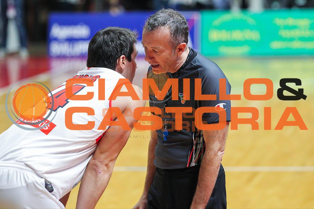 Kristjan Kangur<br /> Openjobmetis Pallacanestro Varese - Sidigas Scandone Avellino<br /> Lega Basket Serie A 2016/2017<br /> Varese 06/11/2016<br /> Foto Ciamillo-Castoria :